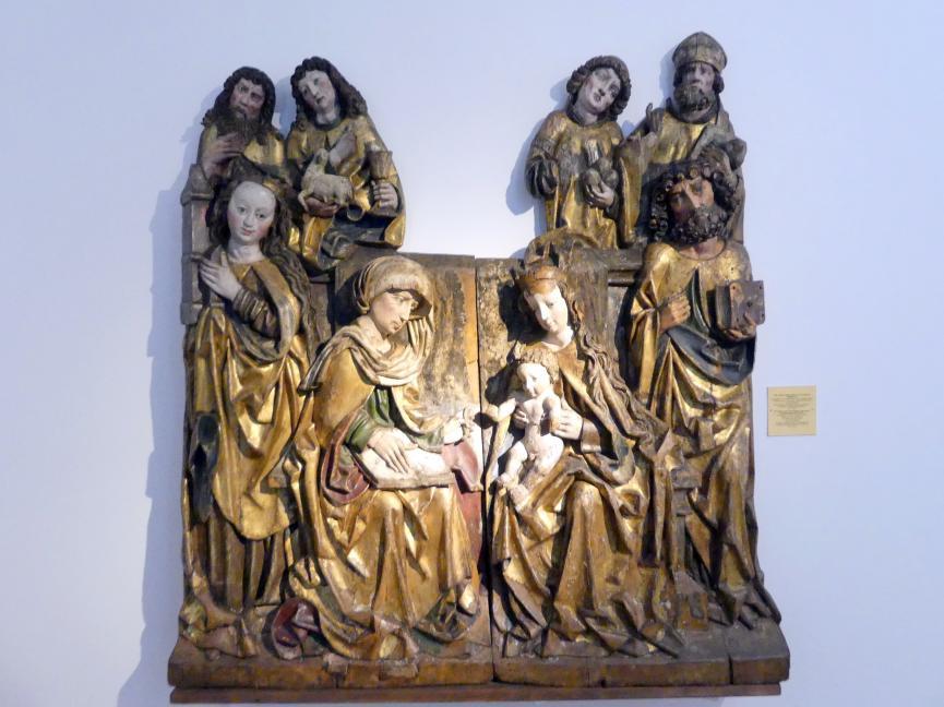 Heilige Anna Selbdritt mit Heiligen, um 1510