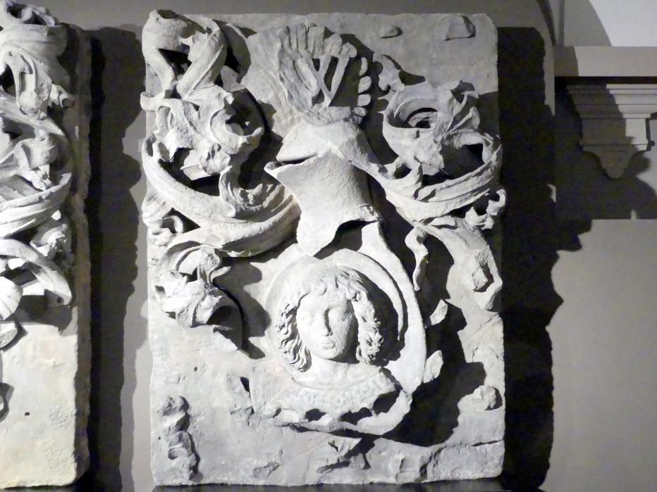 Kartusche mit dem Wappen des Breslauer Stadtrats, 1490 - 1503