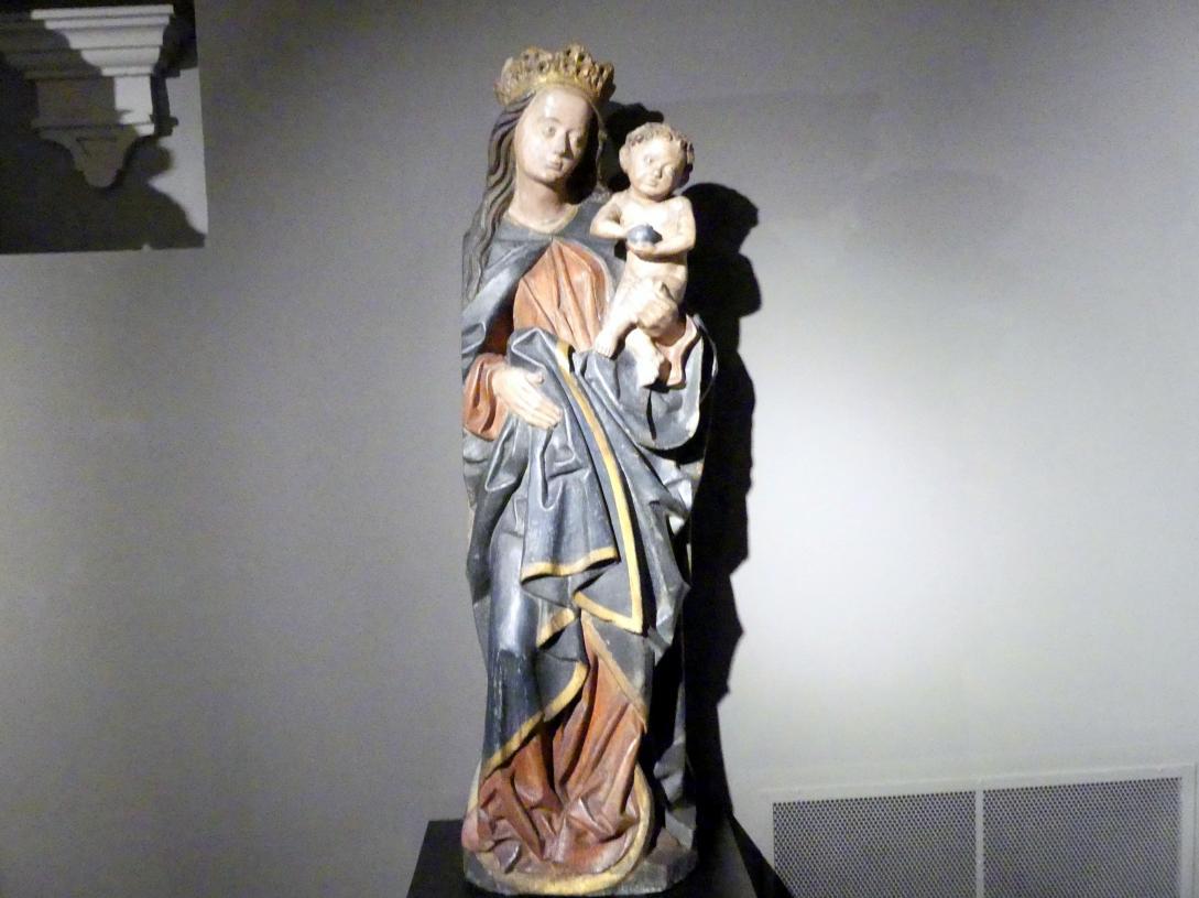 "Mondsichelmadonna (""Blaue Maria""), Ende 15. Jhd."