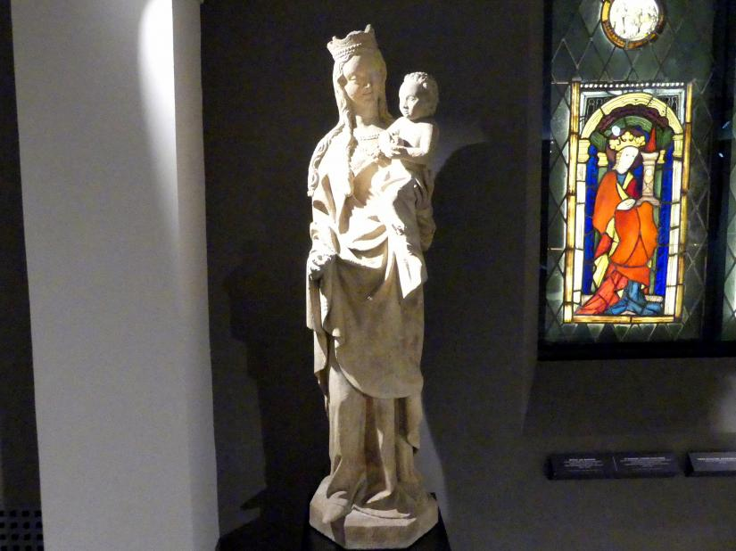 "Maria mit Kind (""Goldene Jungfrau""), Um 1380"