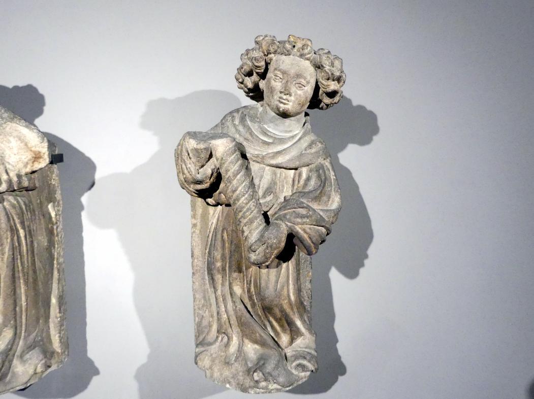 Engel mit Kerze, um 1400