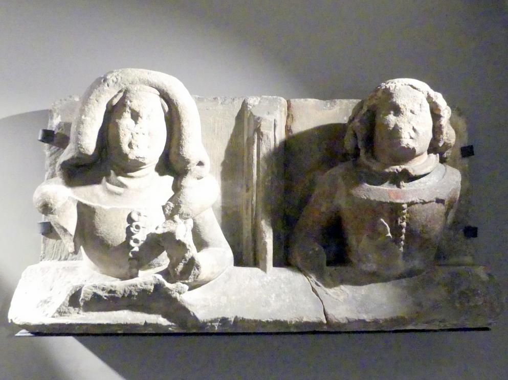 Ehepaar (?), um 1380