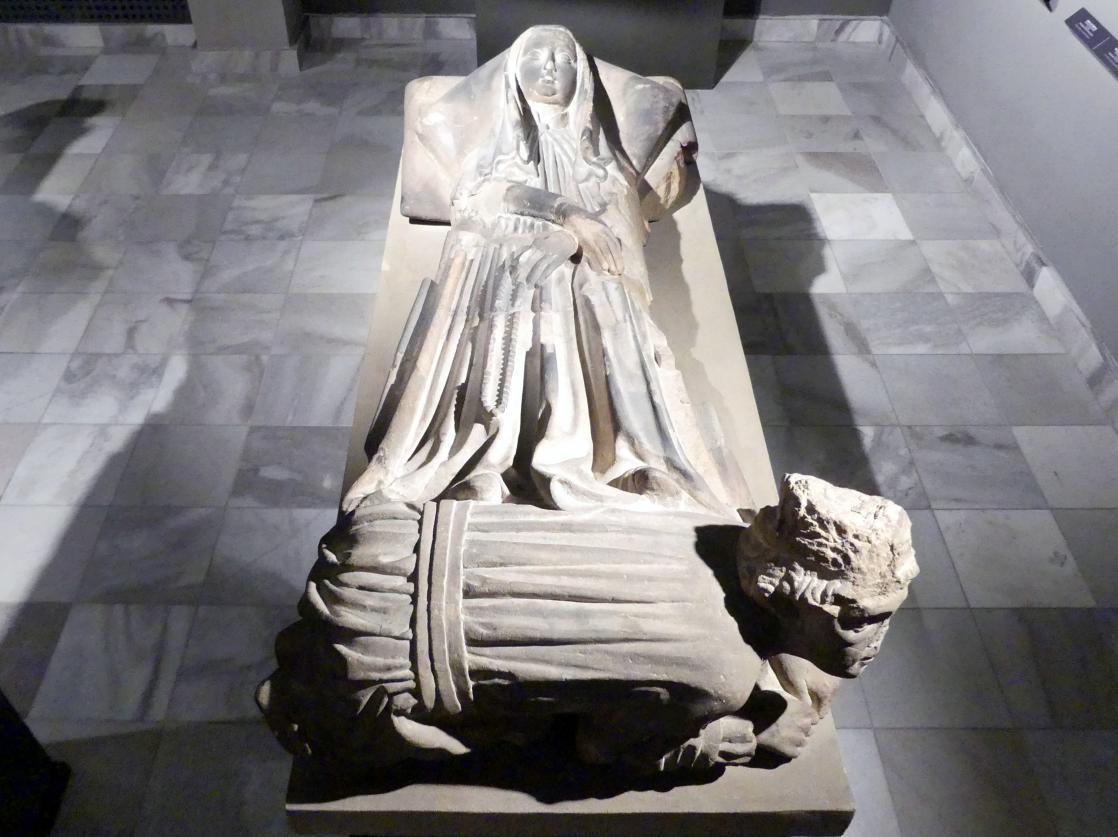 Grabstein der Katharina von Oppeln (1367-1420), nach 1420