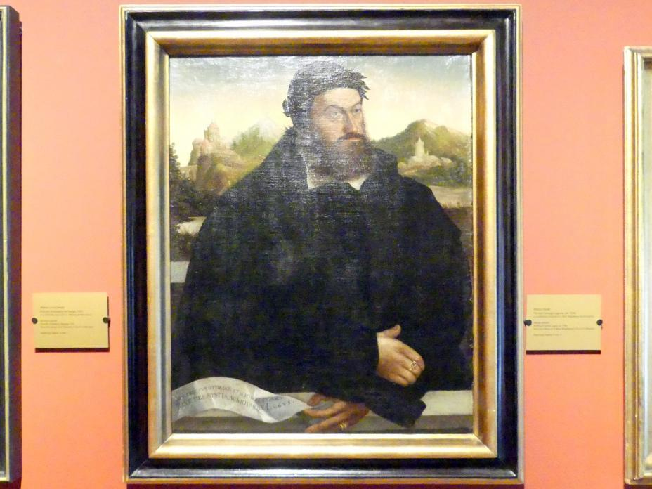 Porträt des Georg Logus, um 1546