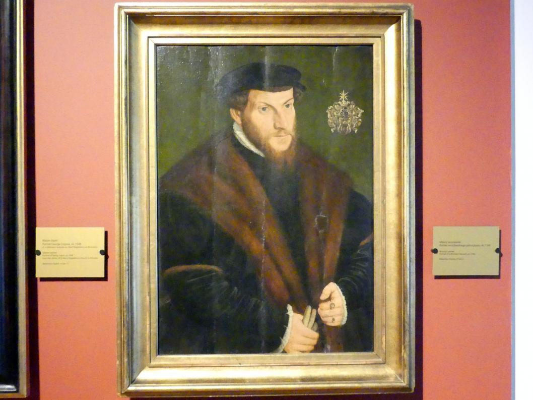Porträt eines Breslauer Adeligen, um 1540