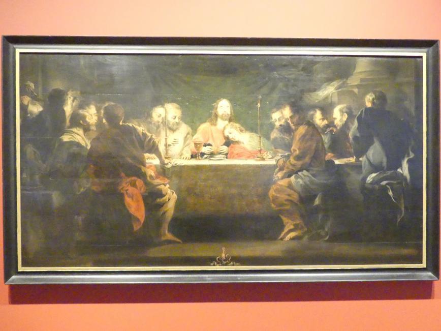 Michael Willmann: Das letzte Abendmahl, 1661