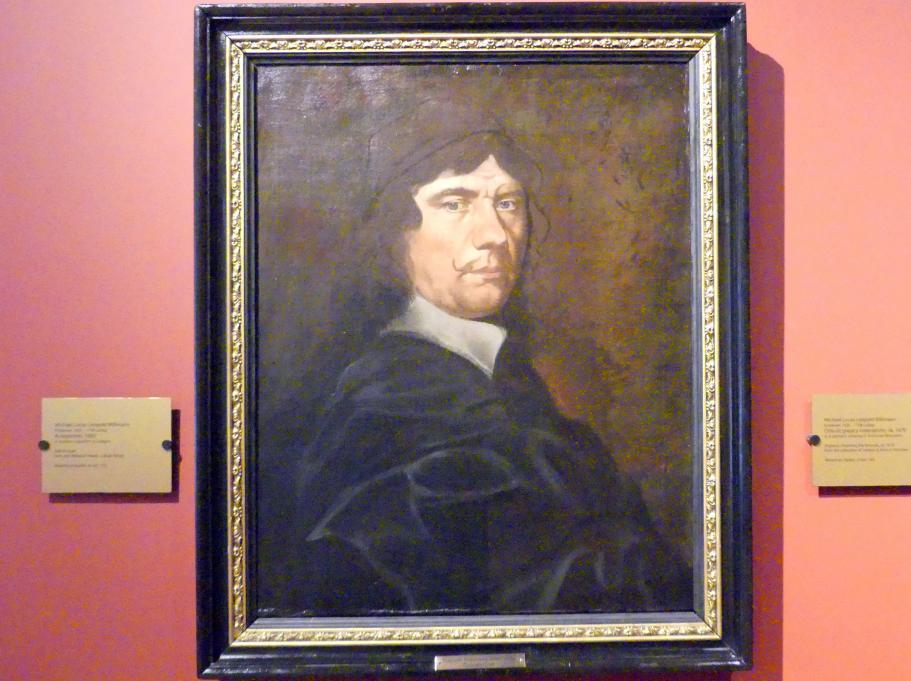 Michael Willmann: Selbstporträt, 1682