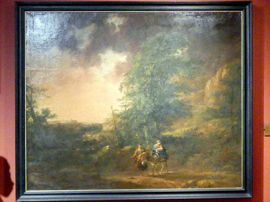 Michael Willmann: Flucht nach Ägypten, Um 1685