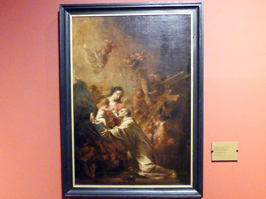 Michael Willmann: Vision des Heiligen Bernhard, vor 1682