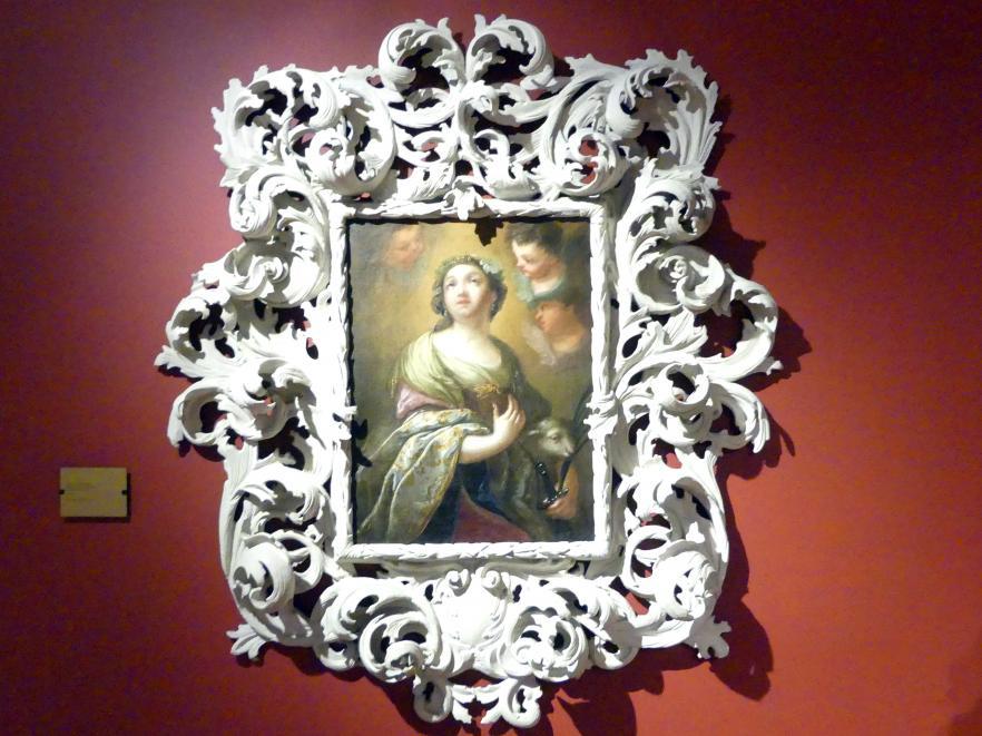 Felix Anton Scheffler: Heilige Agnes, 1737