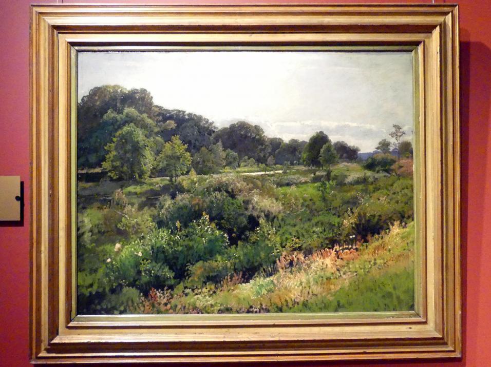 Adolf Dressler: Jelcz an der Oder, 1881