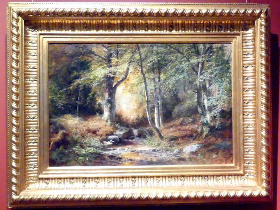 Adolf Dressler: Im Wald, nach 1864