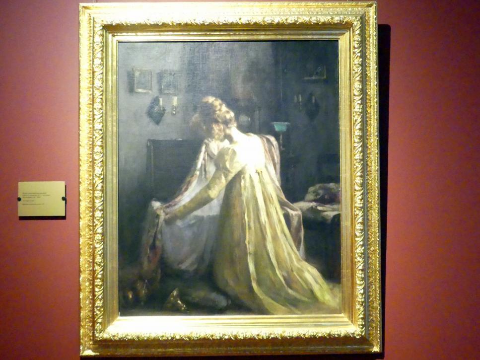 Anna von Gritschker-Kunzendorf: Im Atelier, um 1908
