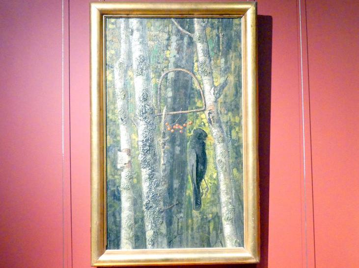 Eugen Burkert: Stiller Wald (Vogelfalle), 1904