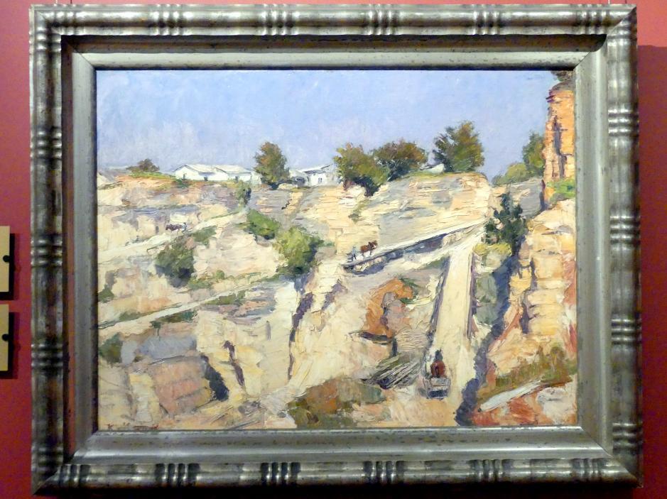 Konrad von Kardorff: Steinbruch, 1913