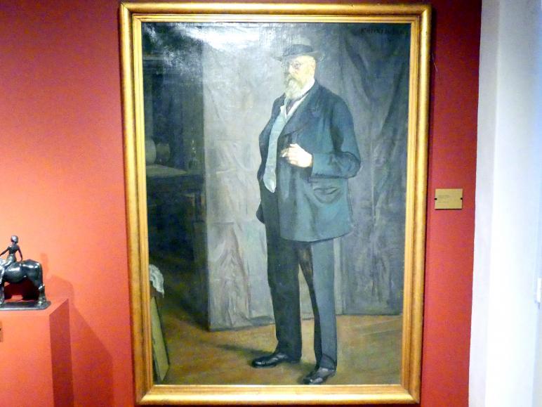 Leopold Graf von Kalckreuth: Selbstporträt, 1915