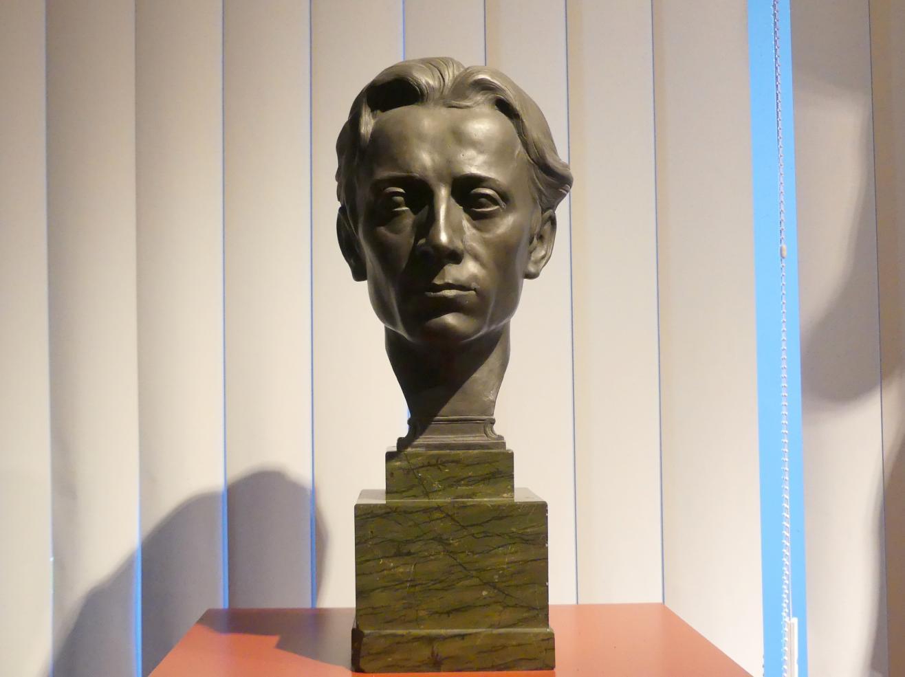 Theodor von Gosen: Porträt des Hermann Mayer (1891-1917), Organist, 1914