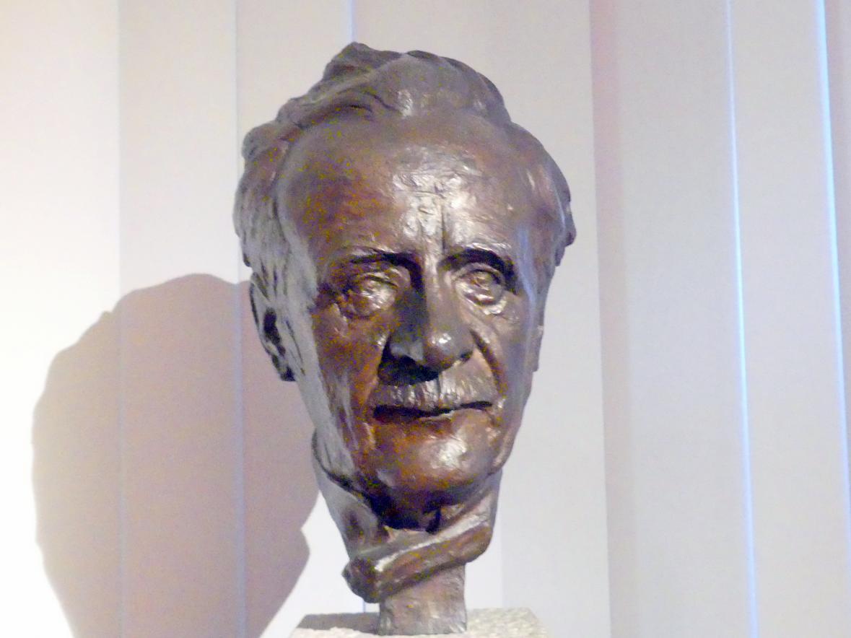 Theodor von Gosen: Porträt des Karl Masner (1858-1936), deutscher Kunsthistoriker, 1925
