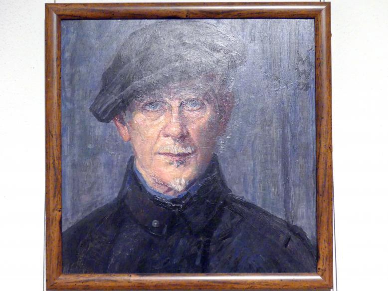 Max Wislicenus: Selbstporträt, 1924