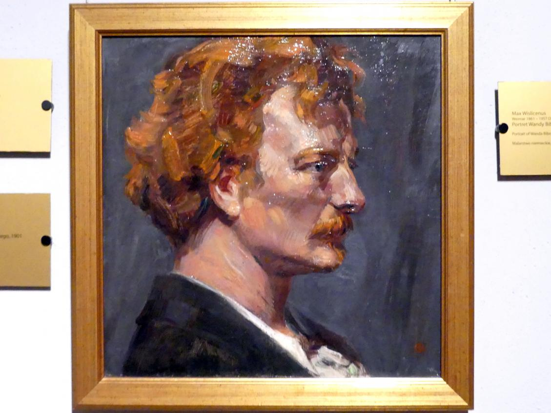 Max Wislicenus: Porträt des Ignacy Jan Paderewski (1860-1941), polnischer Pianist und Komponist, ab 1919 Ministerpräsident, 1901