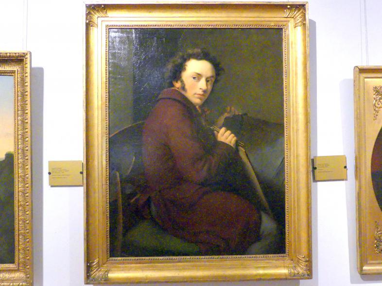 August von Kloeber: Selbstporträt, 1816