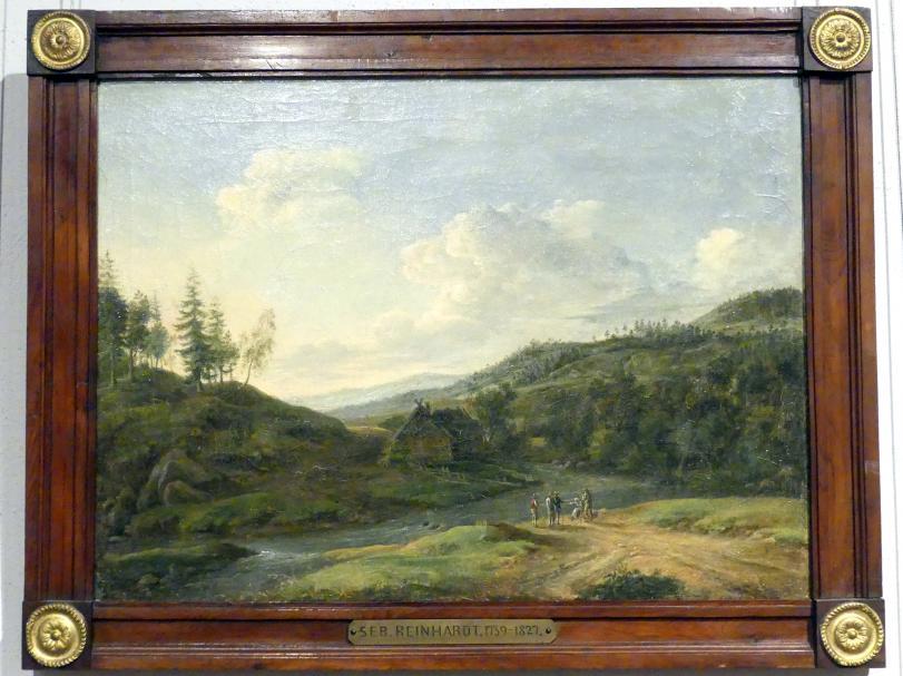 Sebastian Carl Christoph Reinhardt: Landschaft bei Hirschberg, um 1800