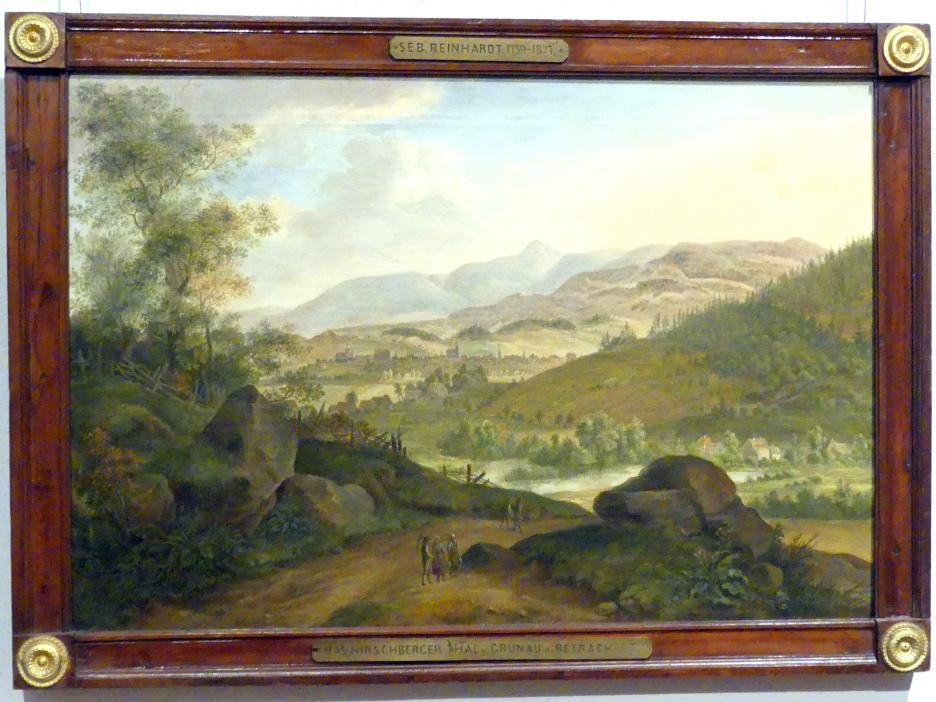 Sebastian Carl Christoph Reinhardt: Landschaft bei Hirschberg, 1798