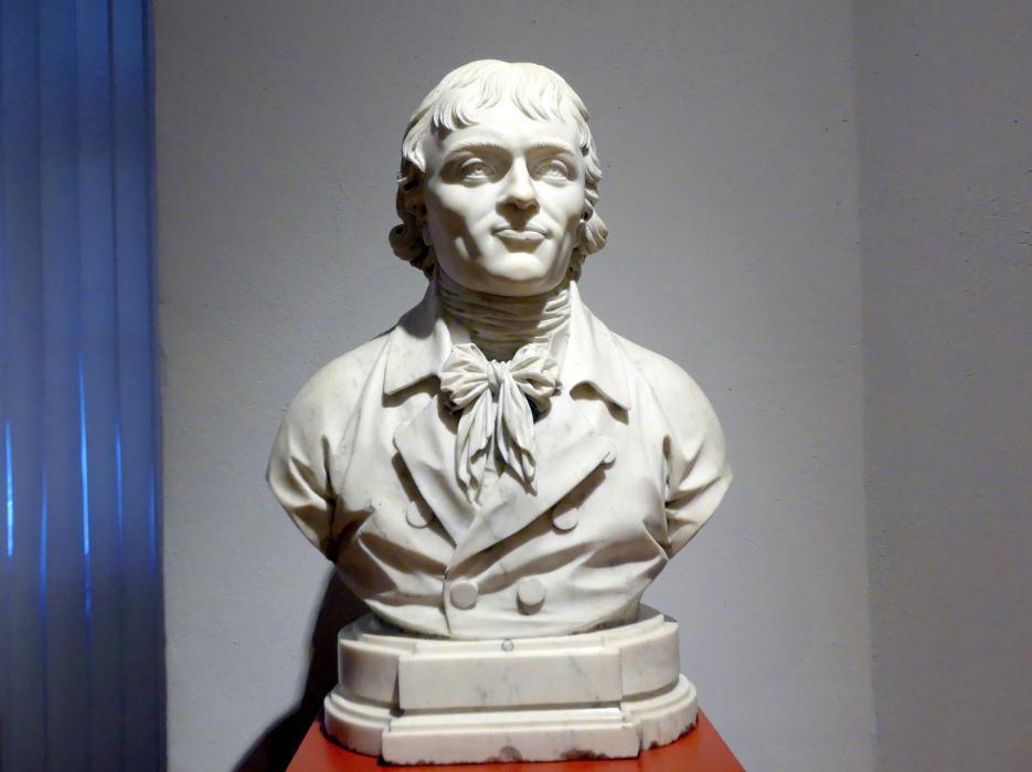 Joseph Mattersberger: Porträt des Georg Gustav Fülleborn (1769-1803), deutscher Schriftsteller, 1804