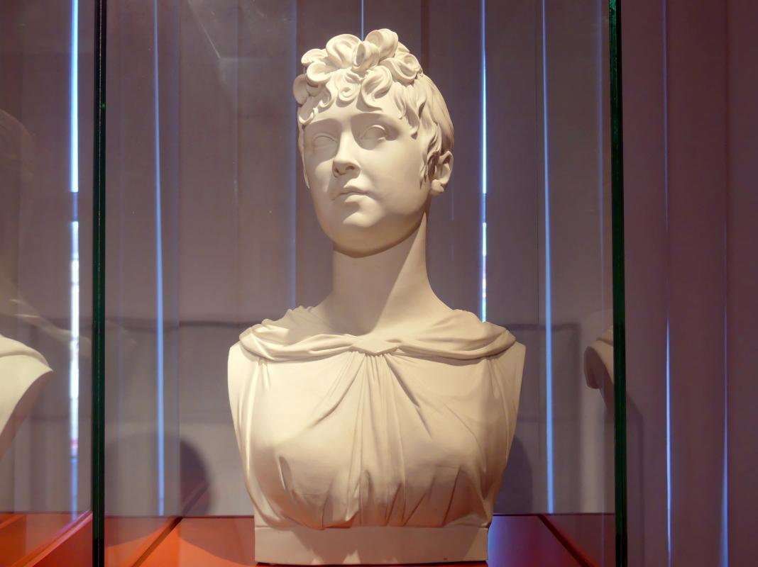 Johann Karl Friedrich Riese: Porträt der Friederike von Reden (1774-1854), Gattin des preußischen Ministers Friedrich Wilhelm Graf von Reden, 1816