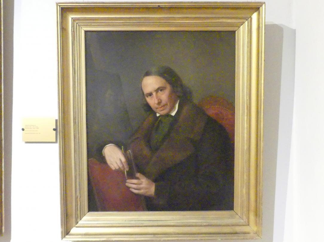 Heinrich König: Bildnis der Vaters des Künstlers, 1835 - 1840