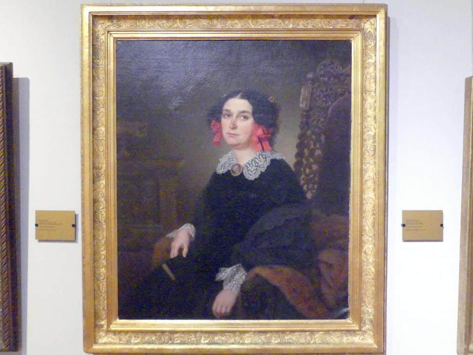 Friedrich Keil: Bildnis der Emilia Skórzewska (1807 - 1875), 1857