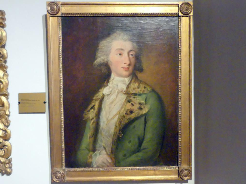 Bildnis des Johann Christoph Friedrich Bach (1732-1795), deutscher Musiker und Komponist, um 1780