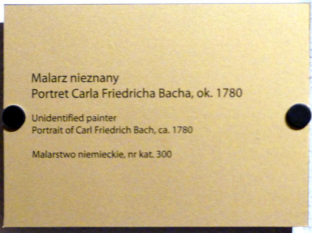 Bildnis des Johann Christoph Friedrich Bach (1732-1795), deutscher Musiker und Komponist, um 1780, Bild 2/2