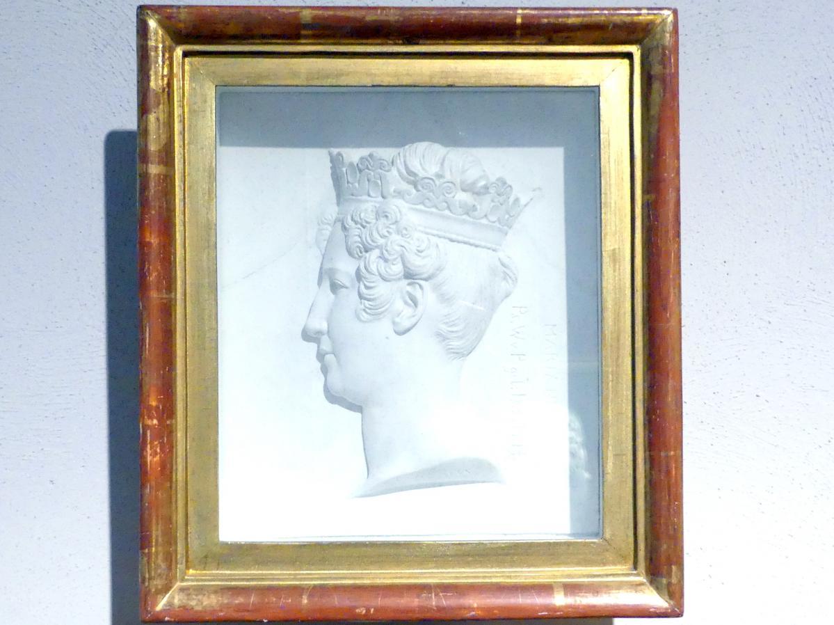 Franz Woltreck: Porträt der Maria Anna Amalie von Hessen-Homburg (1785-1846), 1831