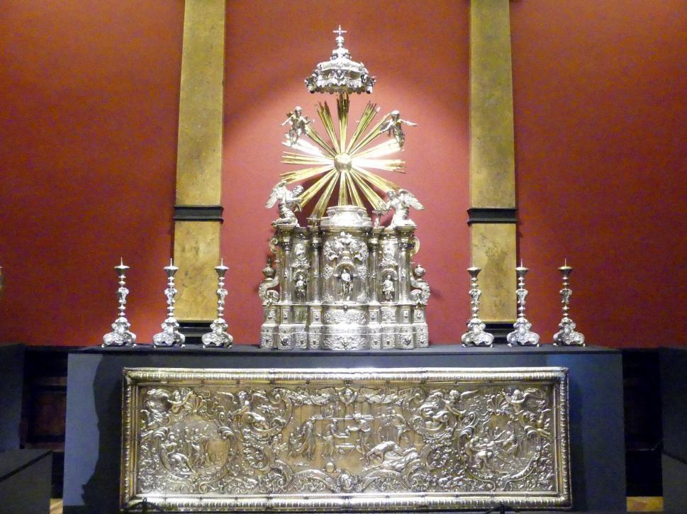Franz Thaddäus Lang: Altarkerzenleuchter, 1731 - 1733