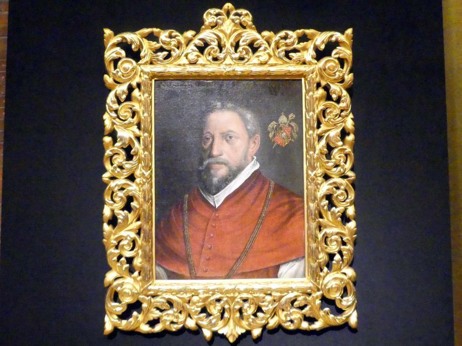 Martin Kober: Porträt des Andreas von Jerin, Fürstbischof von Breslau, 1587
