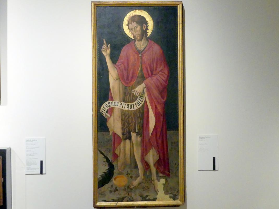 Giovanni Antonio Bellinzoni da Pesaro: Johannes der Täufer, Um 1460 - 1470