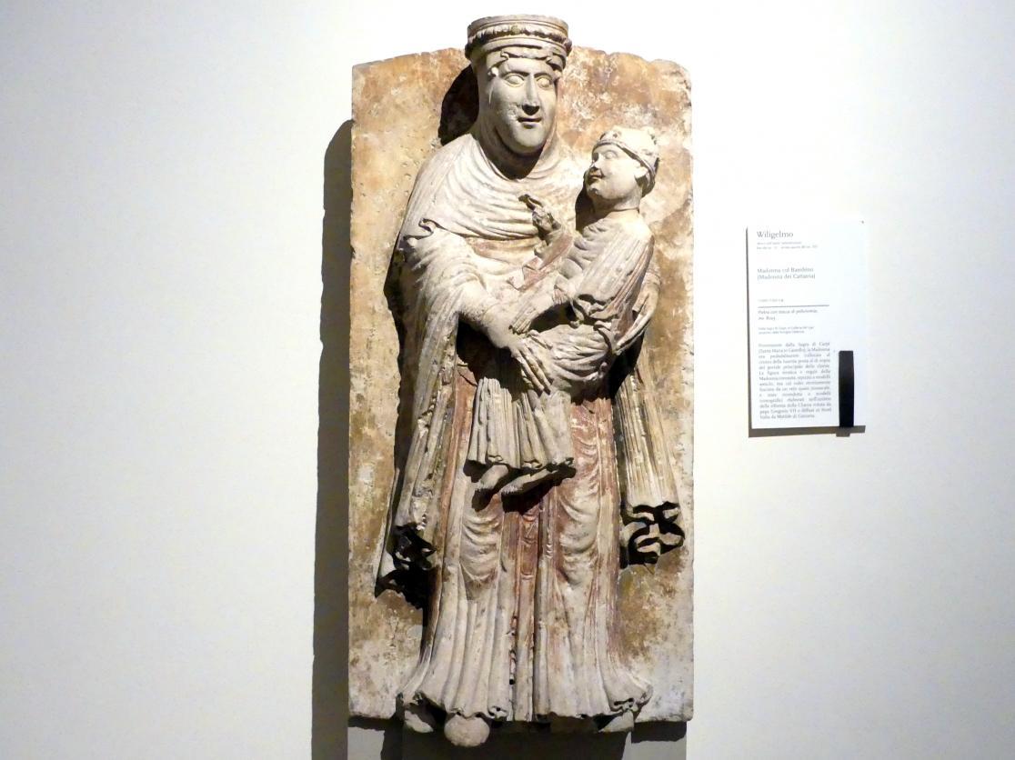 Wiligelmo da Modena: Maria mit Kind, 1. Viertel 12. Jhd.