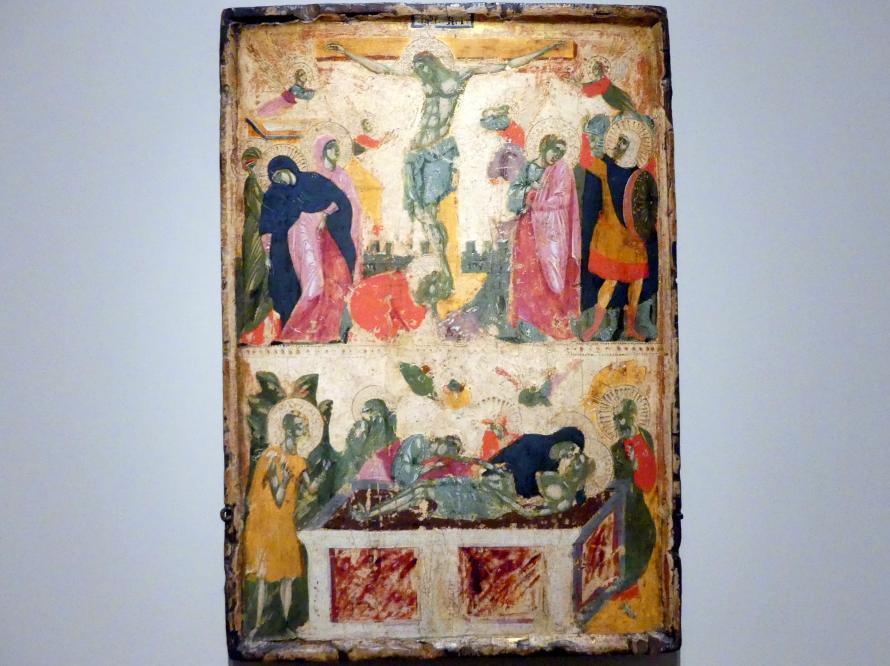 Kreuzigung und Beweinung Christi, um 1290 - 1310