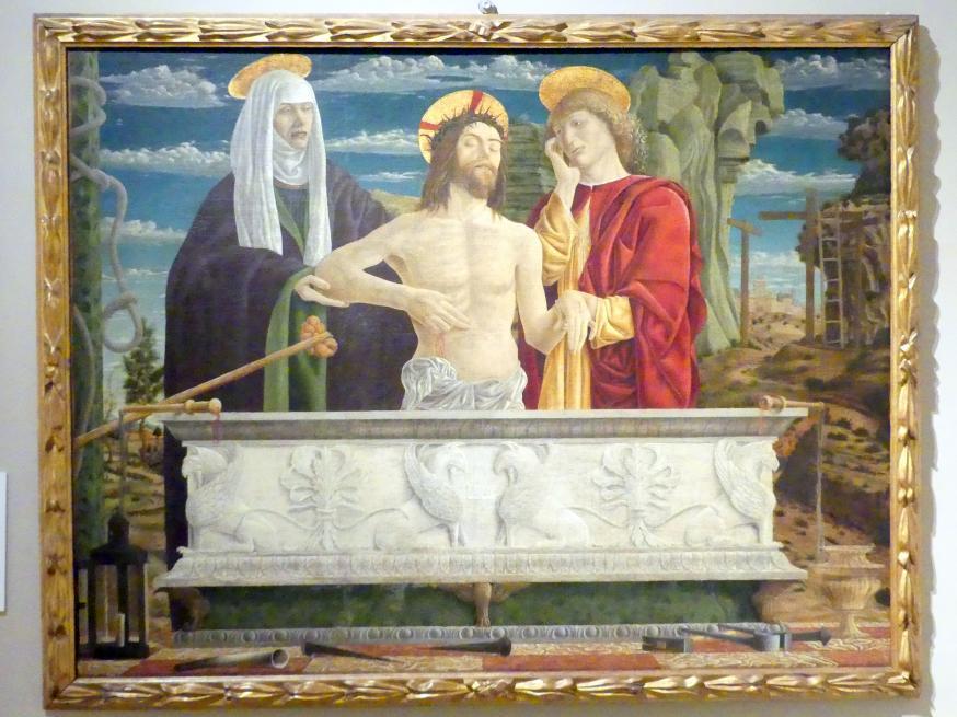 Bartolomeo Bonascia: Pietá, 1475 - 1495