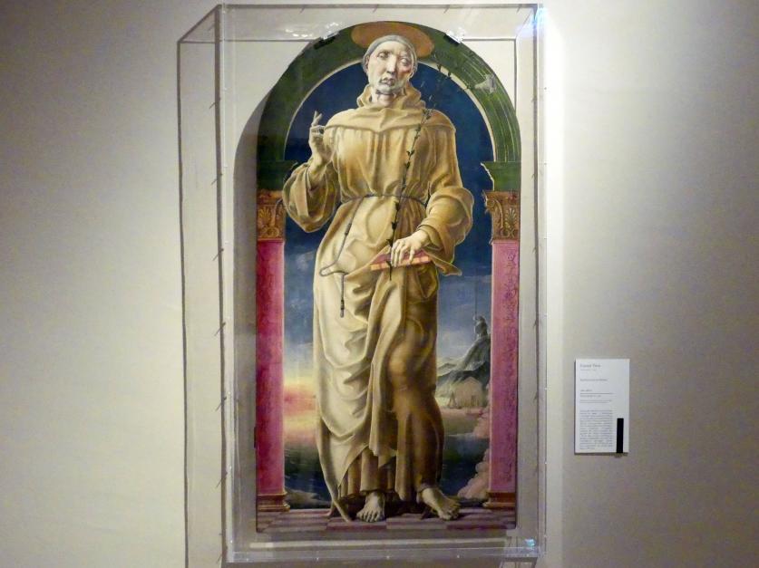 Cosmè (Cosimo) Tura: Heiliger Antonius von Padua, um 1484 - 1488