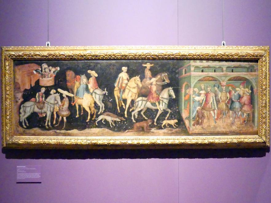 Maestro della Sagra di Carpi (Secondo Maestro di Carpi): Legende des San Giovanni Boccadoro, um 1430
