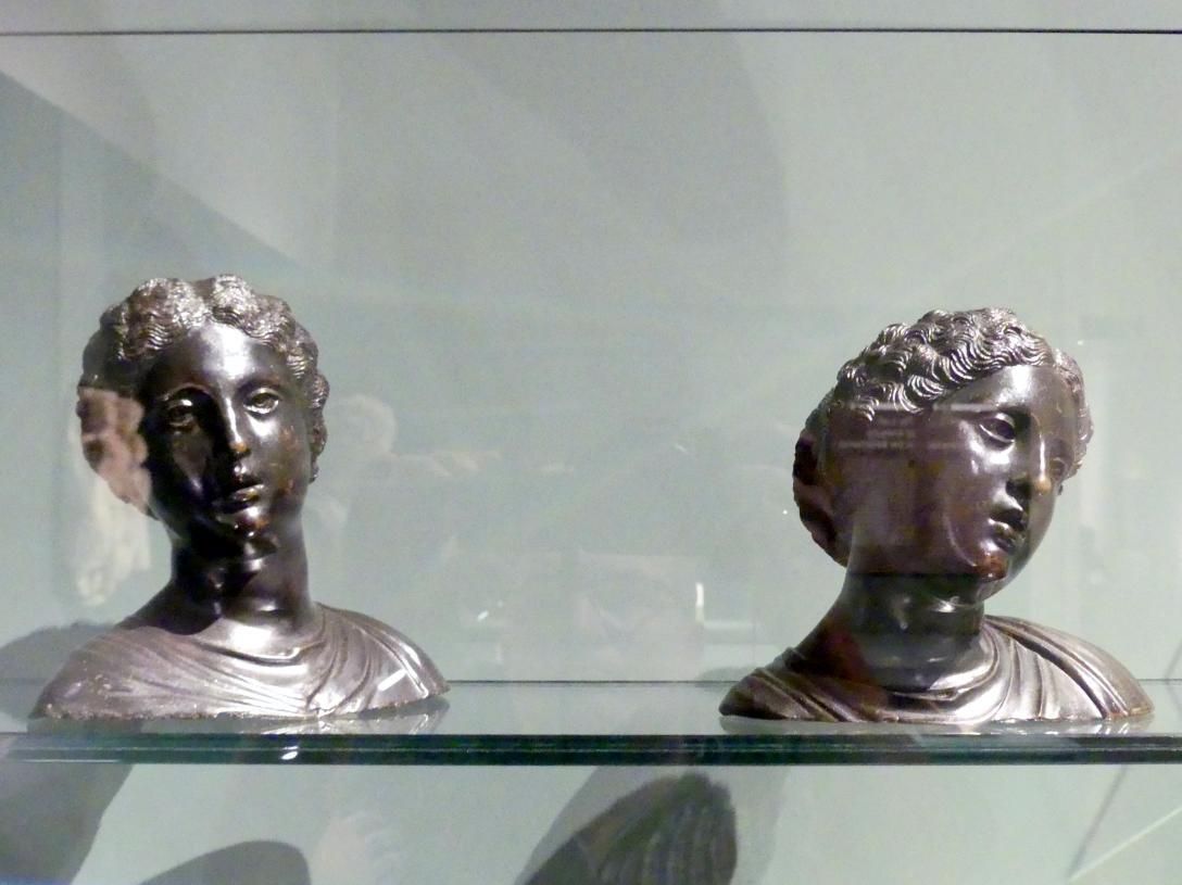 Antonio Lombardo: Zwei weibliche Köpfe, um 1510 - 1515