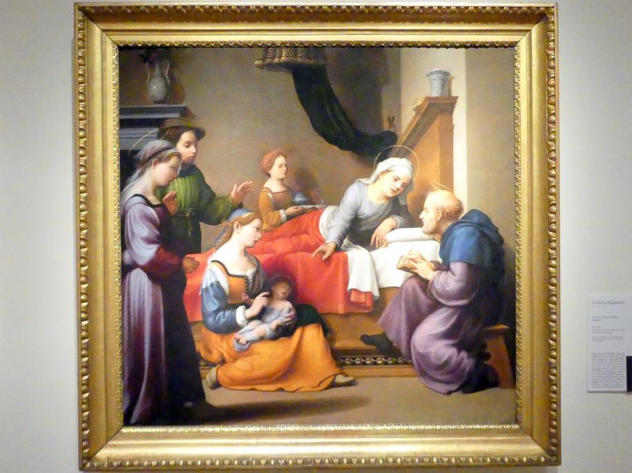 Giuliano Bugiardini: Geburt Johannes des Täufers, 1517 - 1518