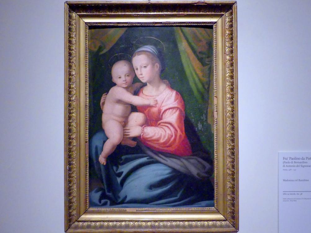 Fra Paolo da Pistoia (Paolo di Bernardino del Signoraccio): Maria mit Kind, Undatiert