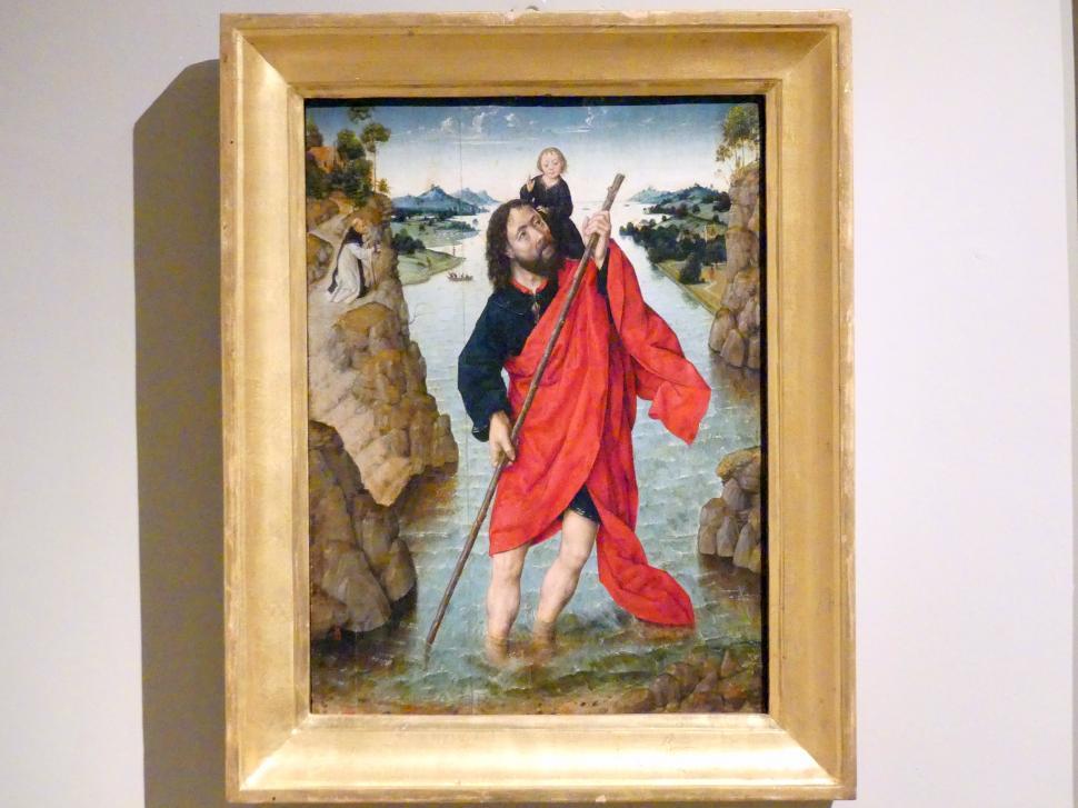 Albert (Aelbrecht) Bouts: Heiliger Christophorus, um 1485