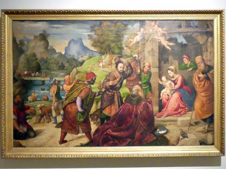 Polidoro da Lanciano: Anbetung der Könige, Undatiert