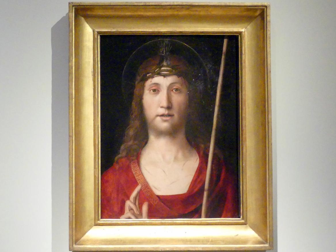 Antonio Solario (lo Zingaro): Ecce Homo, Undatiert