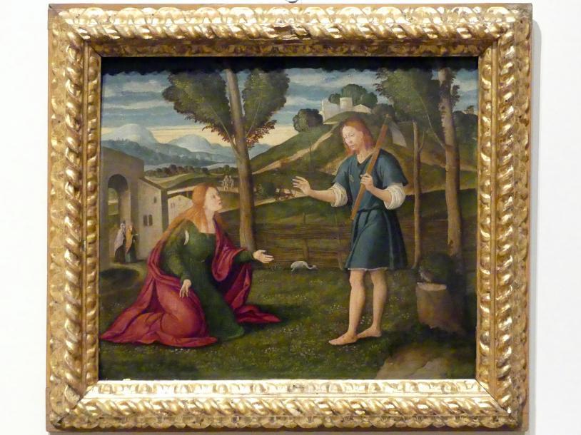 Francesco di Girolamo da SantaCroce: Der auferstandene Christus erscheint Maria Magdalena, Undatiert