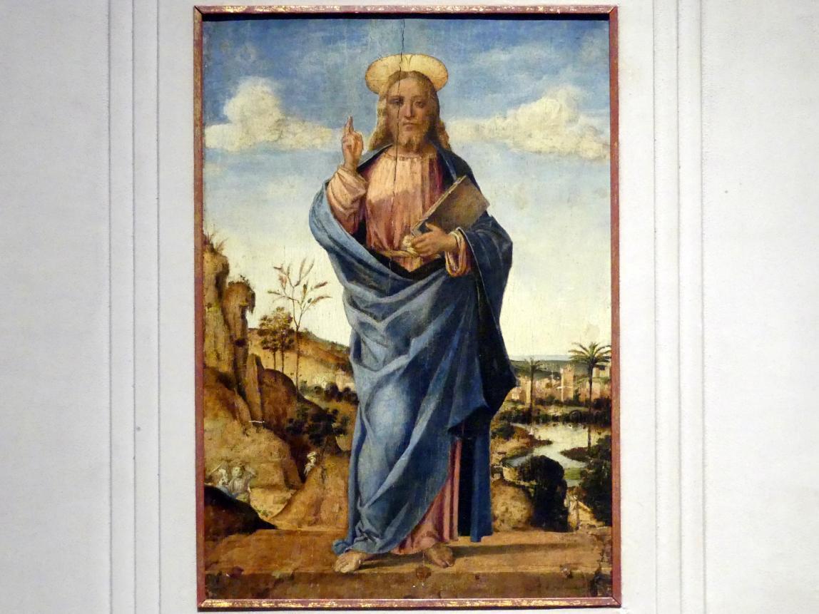 Lazzaro Bastiani: Christus als Erlöser der Welt, um 1490 - 1510